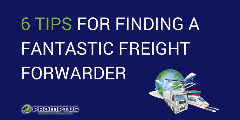 finding a freight forwarder