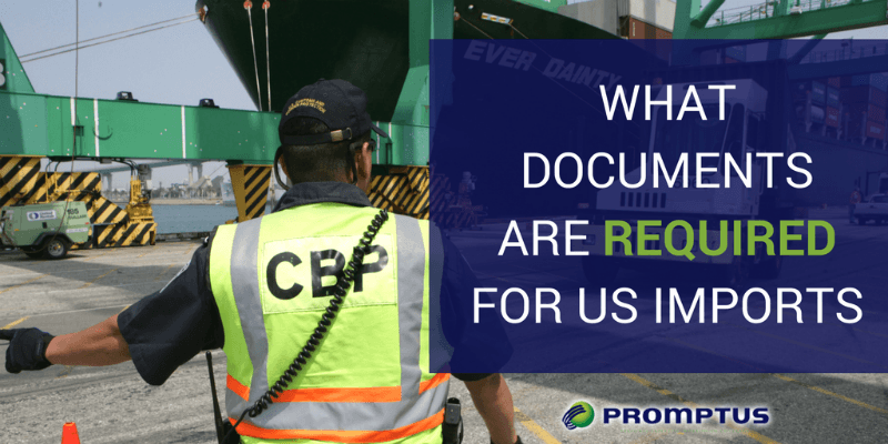 documents required for us imports