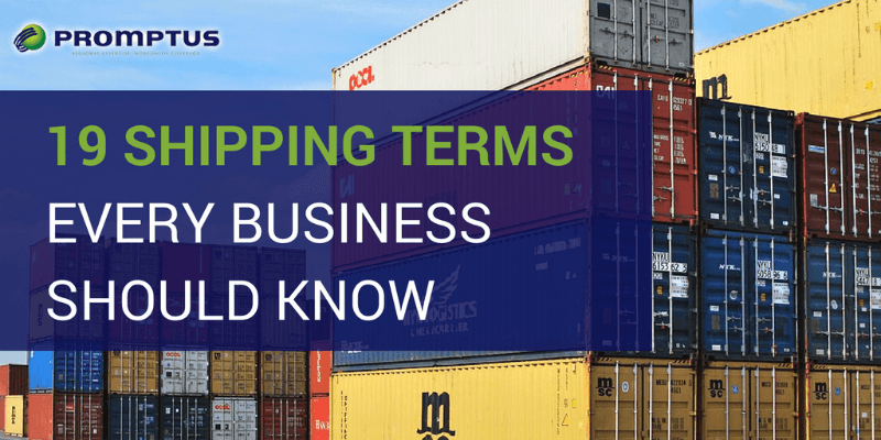 19 shipping terms