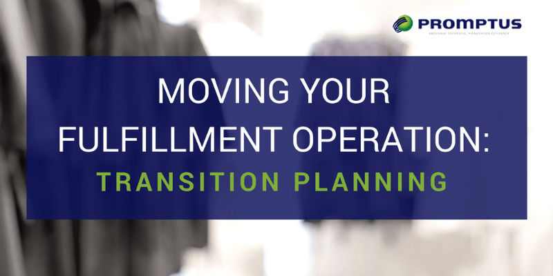moving fulfillment operation