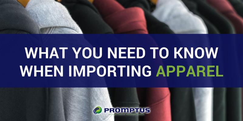 importing apparel