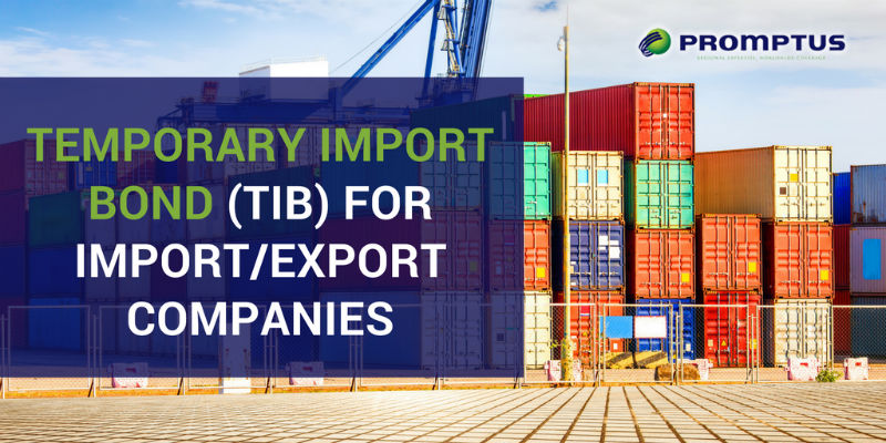 temporary import bond