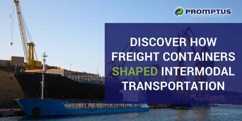 freight containers shaped internodal transportation