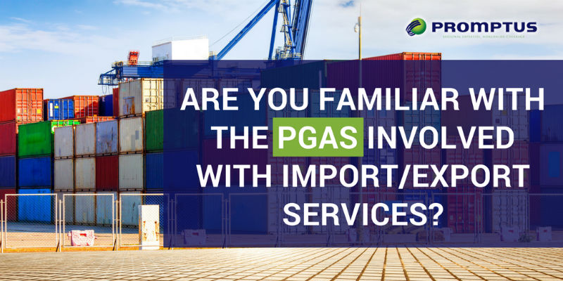 PGA s involved with import/export
