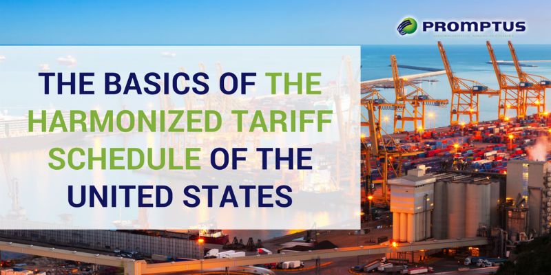 harmonized tariff schedule