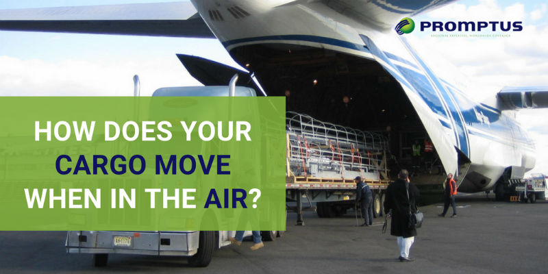 how cargo moves in air