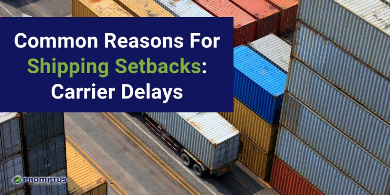 common shipping setbacks