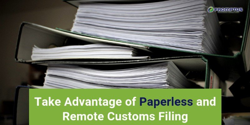 advantage of paperless and remote filing