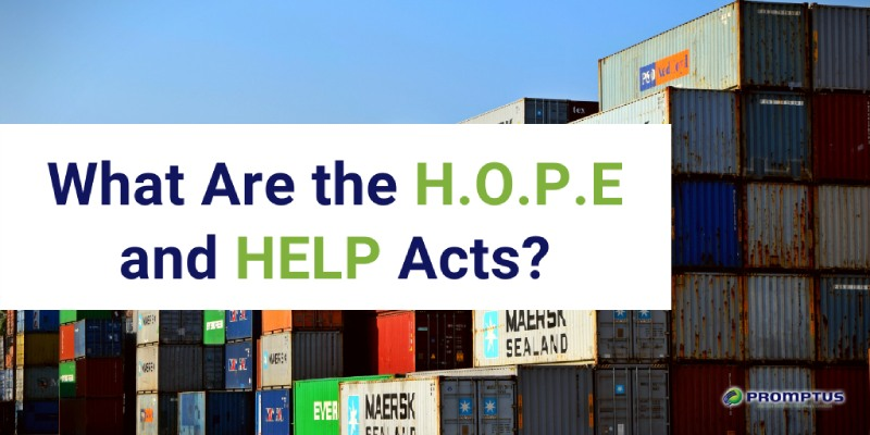 what are the HOPE and HELP acts