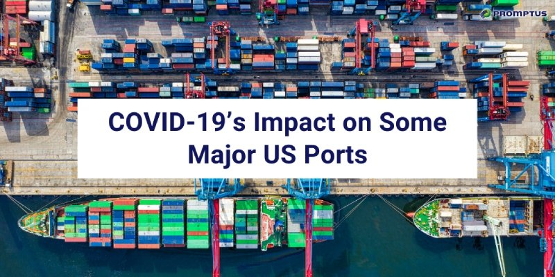covid impact on us ports