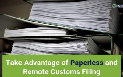 Take Advantage of Paperless and Remote Customs Filing