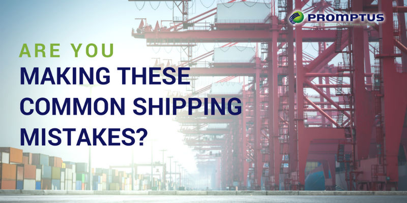 common shipping mistakes