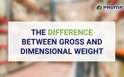 The Difference Between Gross and Dimensional Weight