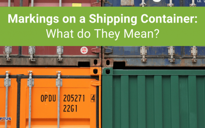 Markings on a Shipping Container: What do They Mean?